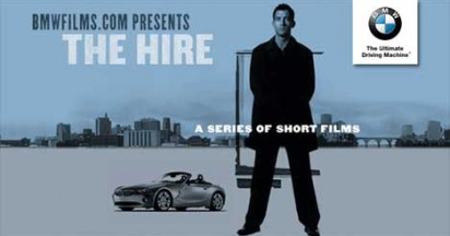 BMW Hire Films Online featuring Clive Owen