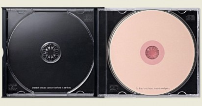 Breast Cancer on Direct Mail CDs