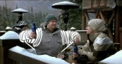 Bud Light Drawing Board Skier