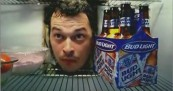 Bud Light Fridge Is Scary