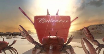 Budweiser King Crabs Steal Beer