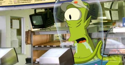 Burger King Go for World Domination with The Simpsons