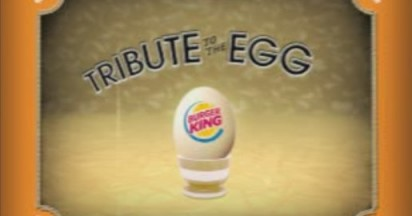 Burger King Kiwis Love Eggs