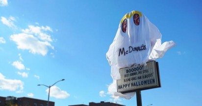 Burger King Halloween Scare