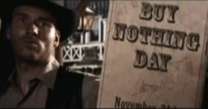Buy Nothing Day in the Wild West