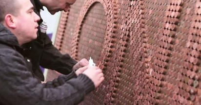 Cadbury Coin Sculpture