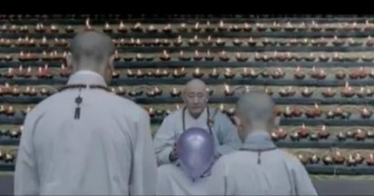 Cadbury Monks With Balloons