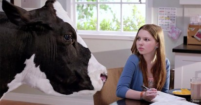 California Milk talking cows part of your family