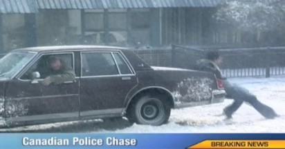 Midas in Canadian Police Chase