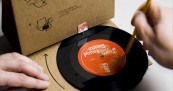 GGRP Cardboard Record Player