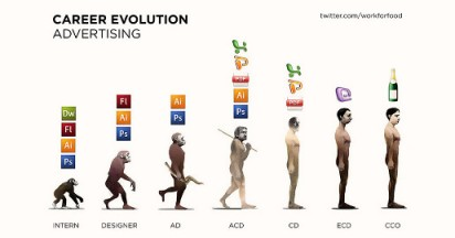 Advertising Careers in Evolution