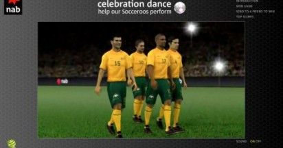 NAB Socceroos Celebration Dance