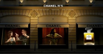 Chanel No 5 in Night Train