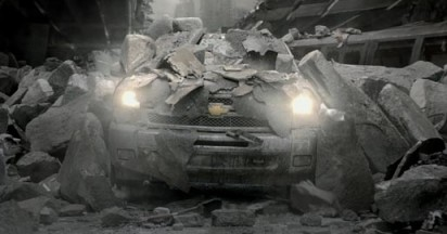 Chevy Silverado Survives Apocalypse