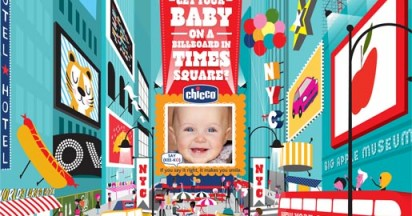Say Chicco in Times Square