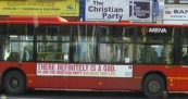 Pro God Bus Adverts in London