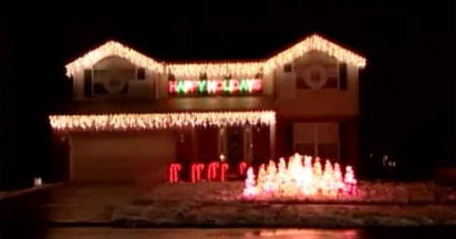 Miller Lite Adopts Christmas Lights Show