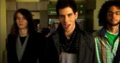 Cobra Starship at airport for Snakes on a Plane