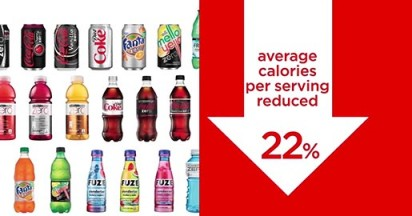 Coca Cola Coming Together on Calories