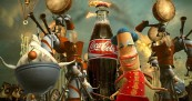 Coke comes from Happiness Factory