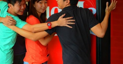 Coca Cola Happiness Hug Machine