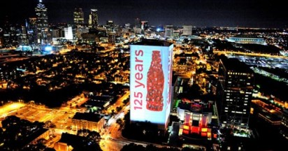 Coca Cola Illuminates 125 Years