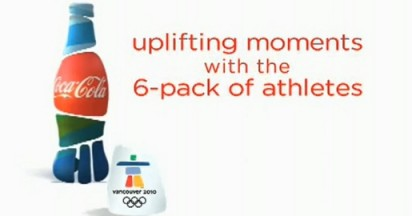 Coca Cola Uplifting Moments at Vancouver 2010