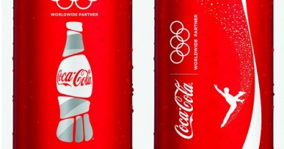 Coca-Cola Limited Edition Olympic Winter Games Cans