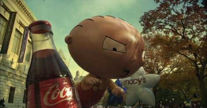 Coca Cola Balloon in Macys Parade
