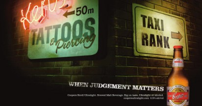 Coopers Brewery When Judgement Matters
