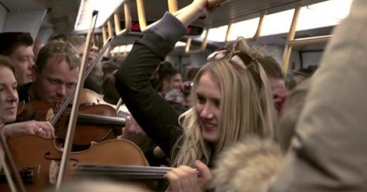 Copenhagen Phil on Copenhagen Metro