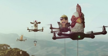 Cup Noodles Drones launched in Brazil