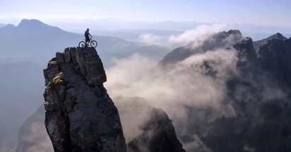 Danny Macaskill on The Ridge