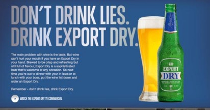 Export DB Dry – the Wine Is Over
