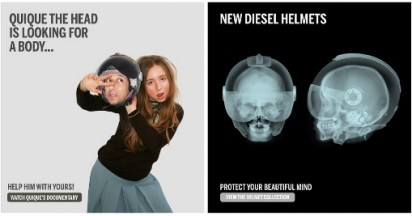 Diesel Helmets on Quique The Head