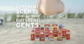Old Spice Different Scents for Different Gents