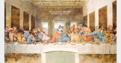 Abandoned Dogs in Last Supper