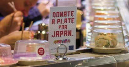 Donate a Plate for Red Cross Japan Appeal