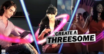 Create a Threesome with Doritos