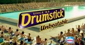 Drumstick Summer Ritual at the pool