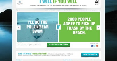 WWF Earth Hour – I Will if You Will