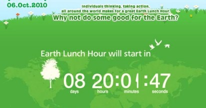 Panasonic Earth Lunch Hour