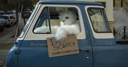 Easter Bunny Apology Tour