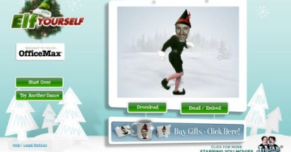 Elf Yourself Online Again