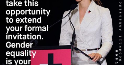 Emma Watson launches He For She movement