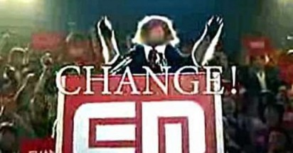 EMobile Monkey change for Barack Obama