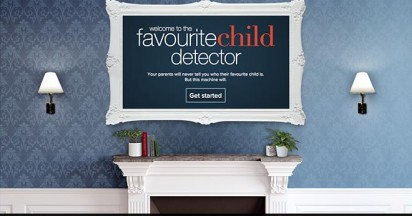 Favourite Child Detector for Modern Families
