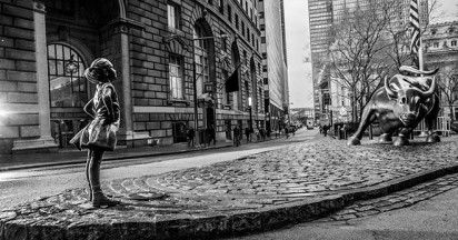 Wall Street Fearless Girl by State Street