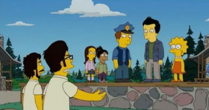 Flight of the Conchords promote Wellington on The Simpsons