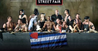 Folsom Street Fair puts Last Supper in Leather